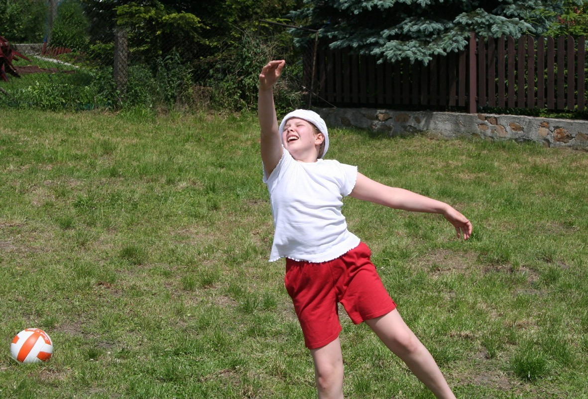 Młodzi ludzie i sport